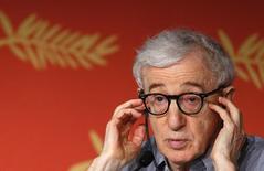 Diretor Woody Allen concede entrevista em Cannes.  11/5/2016. REUTERS/Yves Herman