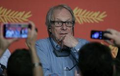 Veterano diretor britânico Ken Loach durante evento em Cannes.   13/05/2016       REUTERS/Regis Duvignau