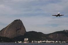 Aeronave da Gol vista no Rio de Janeiro.    01/07/2015       REUTERS/Sergio Moraes