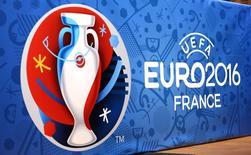 Logo da Euro 2016 visto na França.       20/04/2016       REUTERS/Charles Platiau