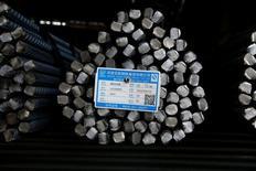 Les Etats-Unis ont relevé les tarifs douaniers sur les importations chinoises d'acier plat laminé à froid, les faisant passer à 522%. /Photo prise le 28 avril 2016/REUTERS/John Ruwitch