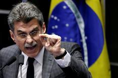 Ministro do Planejamento, Romero Jucá.    12/05/2016        REUTERS/Ueslei Marcelino
