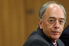 Pedro Parente, indicado para assumir a presidência da Petrobras, no Palácio do Planalto. 19/05/2016 REUTERS/Adriano Machado