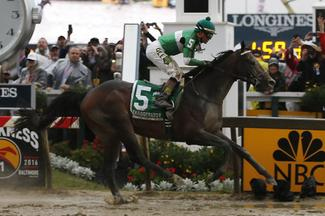 Exaggerator wins Preakness