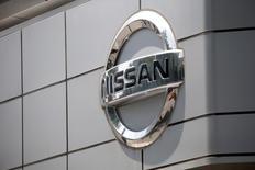 The logo of Nissan is seen at its dealership in Seoul, South Korea, May 16, 2016.  REUTERS/Kim Hong-Ji