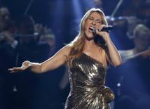 Céline Dion durante apresentação na premiação Billboard, em Las Vegas.   23/05/2016        REUTERS/Mario Anzuoni