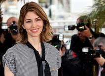 "Director Sofia Coppola poses during a photocall for the film ""The Bling Ring"" during the 66th Cannes Film Festival in Cannes, May 16, 2013. REUTERS/Regis Duvignau/File Photo"