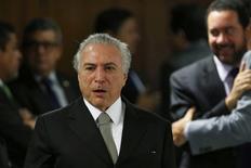 Presidente interino Michel Temer. 24/05/2016. REUTERS/Adriano Machado