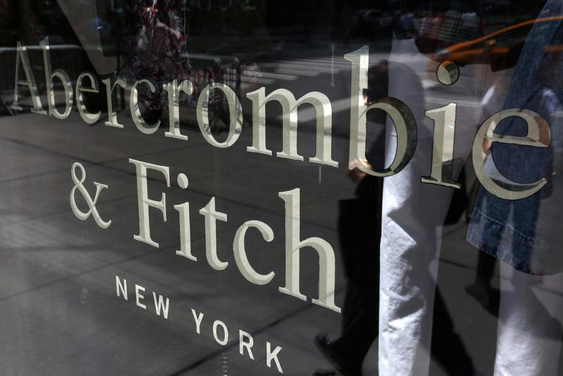 Abercrombie sales fall for 13th straight quarter, shares slump | Reuters