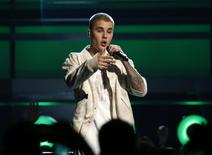 Justin Bieber performs a medley of songs at the 2016 Billboard Awards in Las Vegas, Nevada, U.S., May 22, 2016. REUTERS/Mario Anzuoni/Files