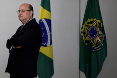 Ilan Goldfajn, indicado à presidência do Banco Central, em encontro com presidente interino Michel Temer, no Palácio do Planalto, em Brasília 17/05/2016 REUTERS/Ueslei Marcelino
