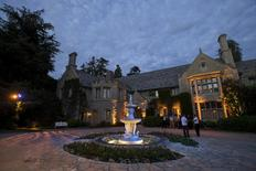"A general view of the Playboy Mansion during the premiere of ""The Transporter Refueled"" in Los Angeles, California August 25, 2015.   REUTERS/Mario Anzuoni"