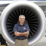 Paulo Cesar de Souza e Silva, atualmente vice-presidente de Aviação Comercial da Embraer, assumirá a presidência da fabricante de jatos em julho. 12/03/2014. REUTERS/Paulo Whitaker