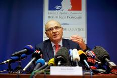 Football Soccer - Euro 2016 - Marseille prosecutor's press conference - Marseille, France - 13/6/16 - French prosecutor of Marseille Brice Robin speaks during a news conference following the fan violence as part of the UEFA 2016 European Championship in Marseille.  REUTERS/Jean-Paul Pelissier