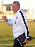 Técnico do Corinthians, Tite, durante treino em São Paulo.     14/06/2016     REUTERS/Paulo Whitaker