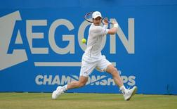 Britain Tennis - Aegon Championships - Queens Club, London - 17/6/16 Great Britain's Andy Murray in action during his quarter final match Action Images via Reuters / Tony O'Brien