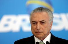 Presidente interino Michel Temer. 16/06/2016. REUTERS/Ueslei Marcelino