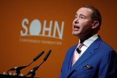 Jeffrey Gundlach, founder of DoubleLine Capital, speaks at the Sohn Investment Conference in New York City, U.S. May 4, 2016.  REUTERS/Brendan McDermid