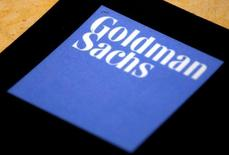 The logo of Goldman Sachs is displayed in their office located in Sydney, Australia, May 18, 2016. REUTERS/David Gray/File Photo