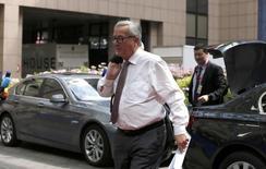 European Commission President Jean-Claude Juncker arrives at the EU Summit in Brussels, Belgium, June 28, 2016. REUTERS/Pascal Rossignol