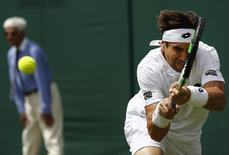 Britain Tennis - Wimbledon - All England Lawn Tennis & Croquet Club, Wimbledon, England - 27/6/16 Spain's David Ferrer in action against Uzbekistan's Denis Istomin REUTERS/Stefan Wermuth