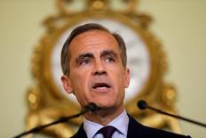 The governor of the Bank of England Mark Carney gives a press conference, his first since the leave result of the European Union referendum, at the Bank of England in the City of London, Britain Thursday, June 30, 2016. REUTERS/Matt Dunham/Pool