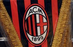Des investisseurs chinois sont sur le point d'acquérir 80% du Milan AC avant de prendre les 20% restants au cours des deux ou trois prochaines années, rapporte vendredi le journal China Daily. Le club de football lombard pourrait être valorisé jusqu'à 750 millions d'euros. /Photo d'archives/REUTERS/Stefano Rellandini