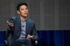 Ator John Cho dá entrevista em Beverly Hills 15/07/2014 REUTERS/Mario Anzuoni