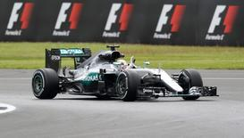 Britain Formula One - F1 - British Grand Prix 2016 - Silverstone, England - 8/7/16 Mercedes' Lewis Hamilton during practice Action Images via Reuters / Matthew Childs Livepic
