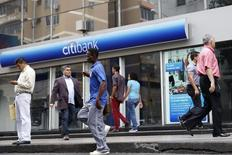 Agência do Citibank vista em Caracas.    22/08/2014      REUTERS/Carlos Garcia Rawlins