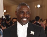 Ator Idris Elba durante evento em Nova York. 2/5/2016.  REUTERS/Lucas Jackson