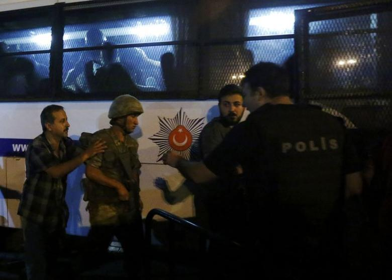 Tens of Turkish soldiers in attempted coup surrender to ...