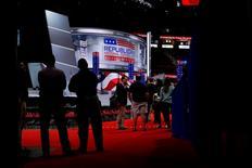 Auditório da Convenção Nacional Republicana em Cleveland.    17/06/2016      REUTERS/Mario Anzuoni