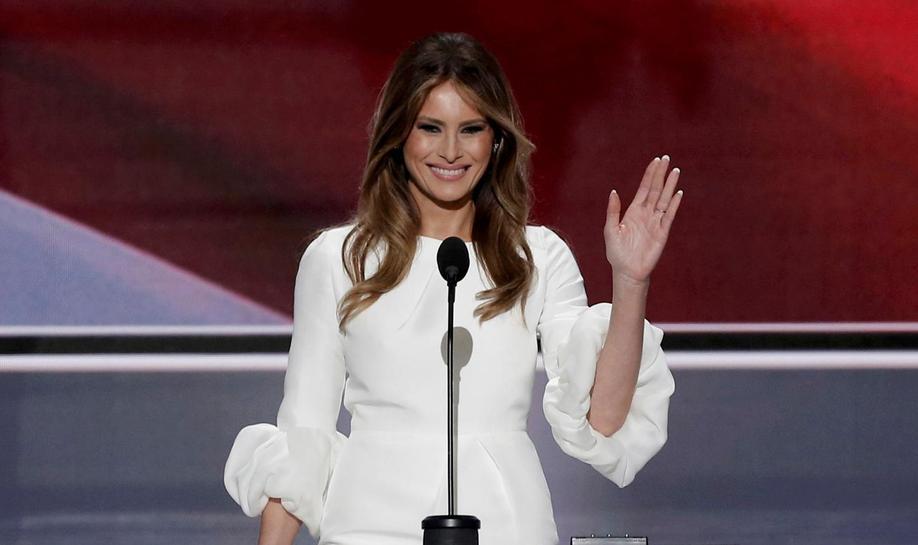 Melania Trump's speech grabs spotlight at Republican convention