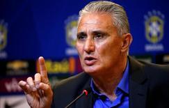 Tite concede entrevista na sede da CBF, no Rio de Janeiro.  20/6/16.  REUTERS/Sergio Moraes
