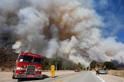 Deadly wildfire near Los Angeles