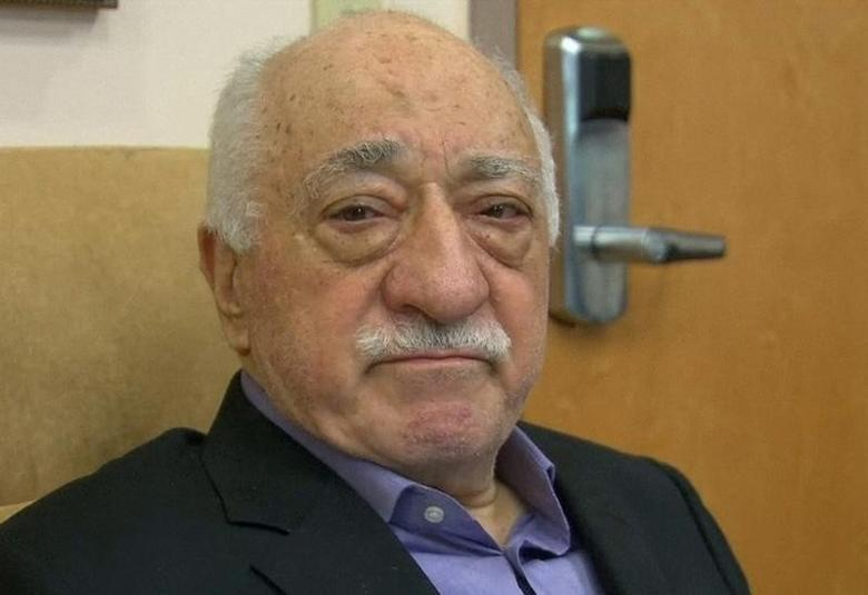 U.S.-based cleric Fethullah Gulen, whose followers Turkey blames for a failed coup, is shown in still image taken from video, as he speaks to journalists at his home in Saylorsburg, Pennsylvania July 16, 2016. REUTERS/Greg Savoy/Reuters TV/File Photo
