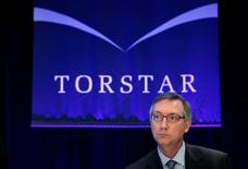 Torstar Corp President and Chief Executive Officer David Holland looks on at the annual general meeting for shareholders in Toronto, May 5, 2010.  REUTERS/Mark Blinch