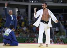 Safarov e Felipe Kitadai  06/08/2016 REUTERS/Toru Hanai
