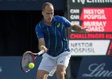 Bruno Soares, durante torneio no Canadá 30/7/2016 Nick Turchiaro-USA TODAY Sports