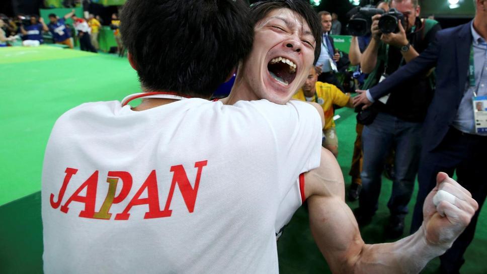 【リオ五輪】 「本当に一番の幸せ者!」 個人総合で内村が大逆転金メダル!!
