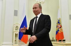 Presidente da Rússia, Vladimir Putin, recebe presidente da Armênia no Kremlin, em Moscou 10/08/2016 REUTERS/Vasily Maximov/Pool