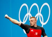 Zielinski na Olimpíada de Londres  3/8/2012 REUTERS/Dominic Ebenbichler