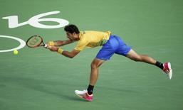 Bellucci contra Nadal. 12/08/2016 REUTERS/Kevin Lamarque