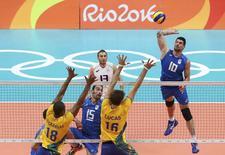 Brasil x Itáliano Maracãnazinho  13/08/2016 REUTERS/Yves Herman
