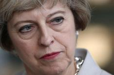 Premiê britânica, Theresa May. 3/8/2016. REUTERS/Neil Hall