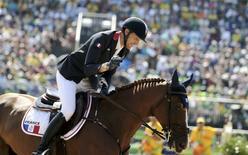 Cavaleiro francês Kevin Staut nos Jogos Rio 2016. 17/08/2016 REUTERS/Tony Gentile