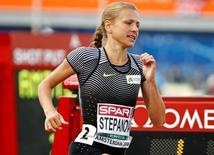 Atleta russa Yulia Stepanova compete em Amsterdã 07/06/2016 REUTERS/Michael Kooren/Foto de Arquivo