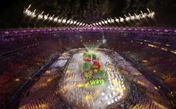 Cerimônia de encerramento dos Jogos do Rio no Maracanã. 21/08/2016   REUTERS/Fabrizio Bensch