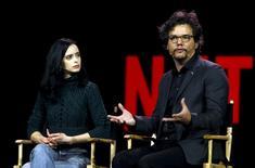 Ator Wagner Moura durante evento da Netflix em Las Vegas. 06/01/2016 REUTERS/Steve Marcus